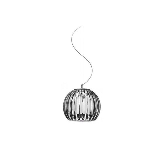 AZzardo AZ0477 Arcada L 1 Light Ceiling Pendant In Black - Dia: 400mm