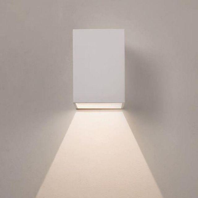 Astro 1298005 Oslo LED White Exterior Wall Light