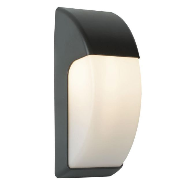 Searchlight 3231GY LED Outdoor Wall Light In Polycarbonate - Height: 320mm