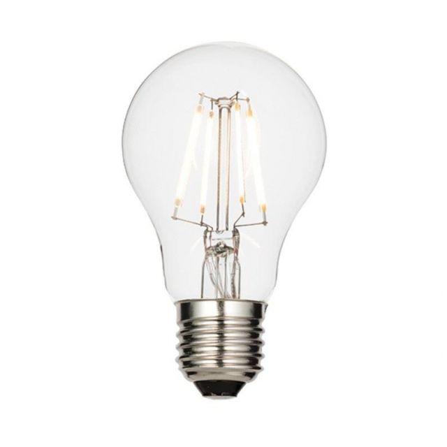 6.5 Watt ES Clear LED GLS Lamp - Warm white