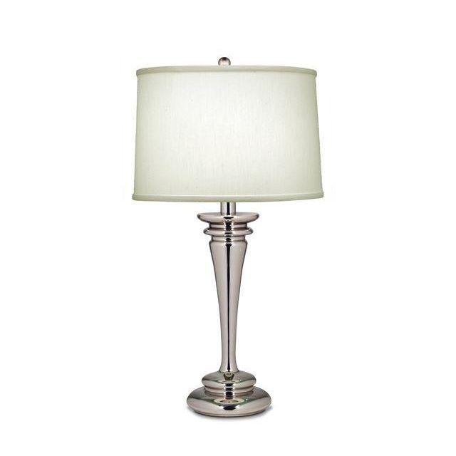 SF/BROOKLYN Brooklyn Polished Nickel Table Lamp with Shade