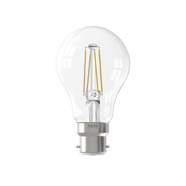 LED 7 Watt B22 BC Cap Dimmable Filament GLS Lamp