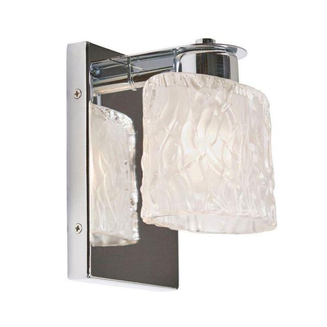 QZ/SEAVIEW1 BATH Seaview 1 Light Bathroom Wall Light In Polished Chrome