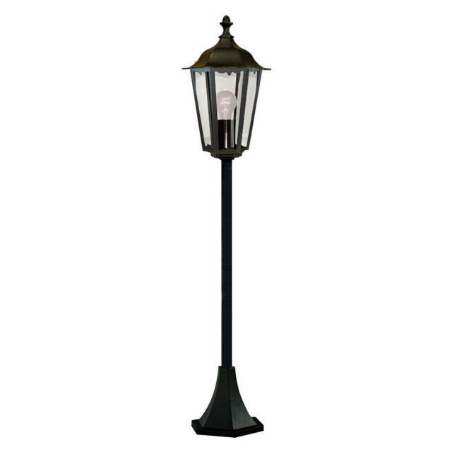 Searchlight 82504BK Alex Outdoor Post Lamp