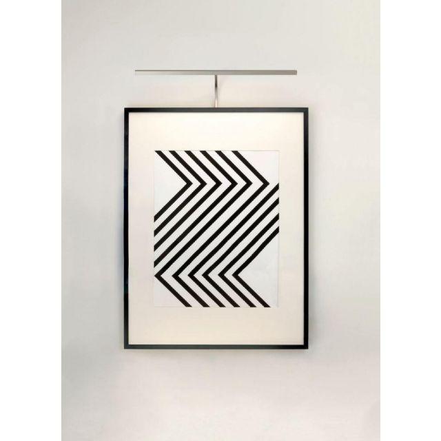 Astro 1374006 Mondrian Frame Mounted Picture Wall Light In Matt Nickel: Width - 600mm
