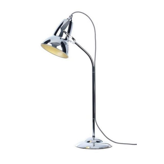 30909 DUO Table Lamp in Chrome with Black/White Cable Braid