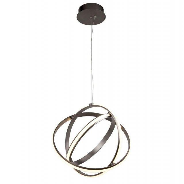 Searchlight 5031-3SN Magic Ceiling Globe Pendant Light In Satin Nickel