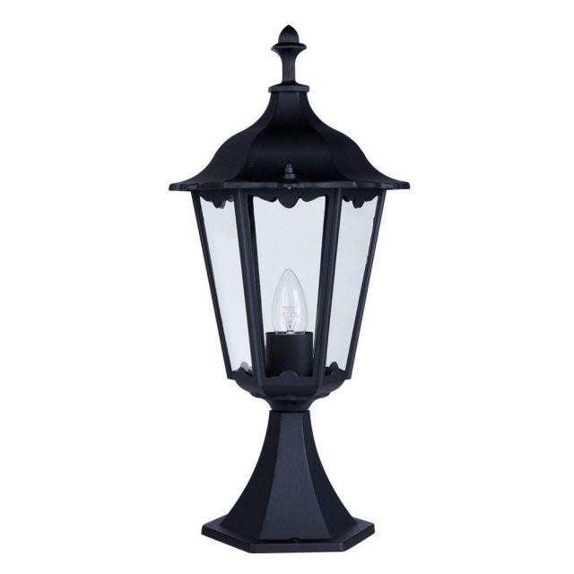 Searchlight 82503BK Alex Outdoor Uplight Post Lamp