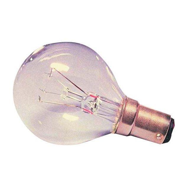 25watt Small Bayonet cap clear Golfball lamp