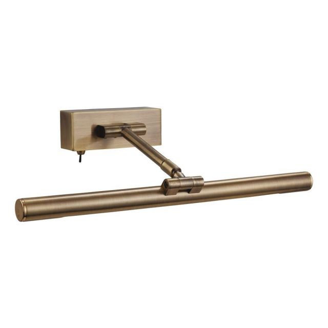 Firstlight PL20AB Low Energy Picture Light Antique Brass