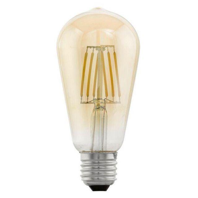 LED Filament Vintage Valve Shape Lamp Large 4 watt