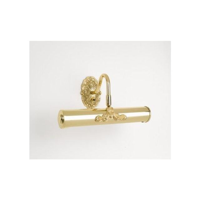 Motif 12 In Polished Brass Solid Brass Picture Light