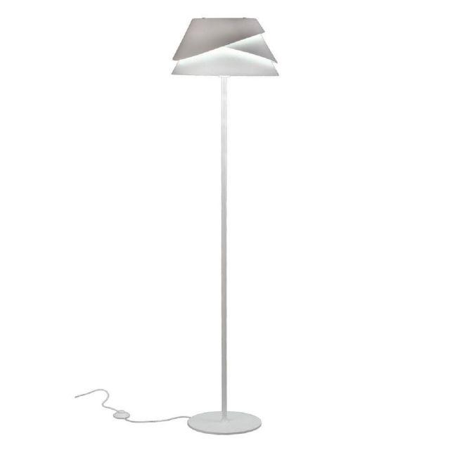 Mantra M5864 Alboran 1 Light Floor Light In White