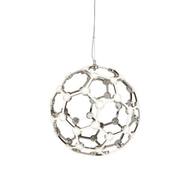 Searchlight 5128CC Magic Ceiling Webbed Globe Pendant Light In Chrome