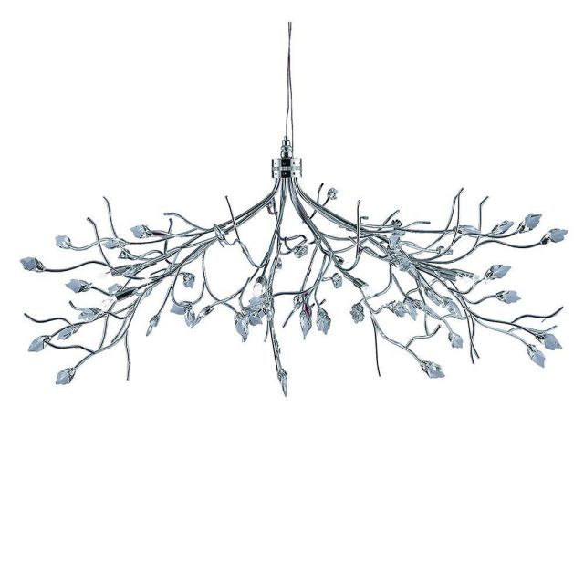 Searchlight 8110-10CC Willow 10 Light Ceiling Pendant