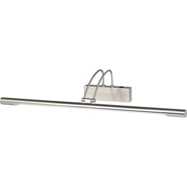 Searchlight 8343SS Adjustable LED Picture Light In Satin Silver