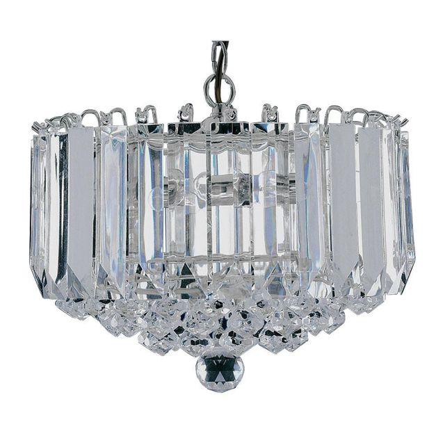 Searchlight 6715CC Sigma 4 Light Ceiling Pendant