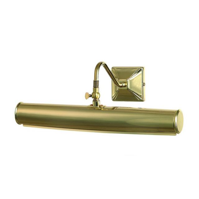 PL1/20 PB Large Traditional Picture Light in Polished Brass