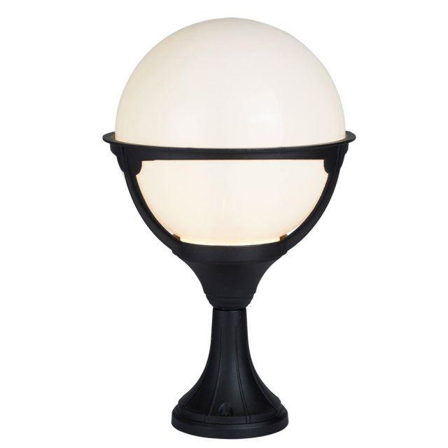 Searchlight 8740 Orb One Light Garden Light in Aluminium