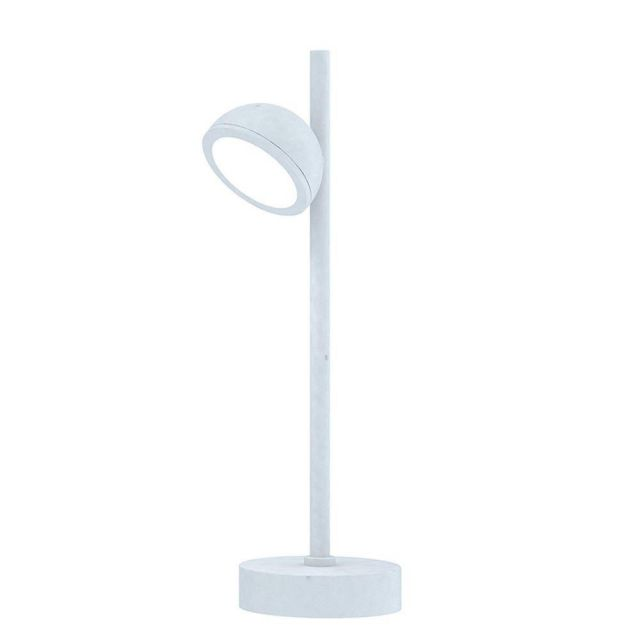 Mantra M6744 Everest 1 Light Outdoor Short Post Light In White - Height: 450mm