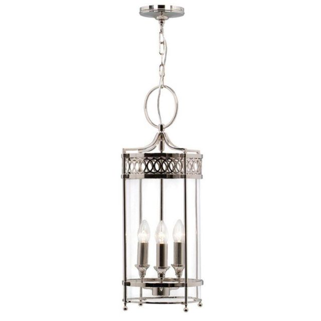 Elstead GH/P Guildhall Polished Nickel Period Lantern