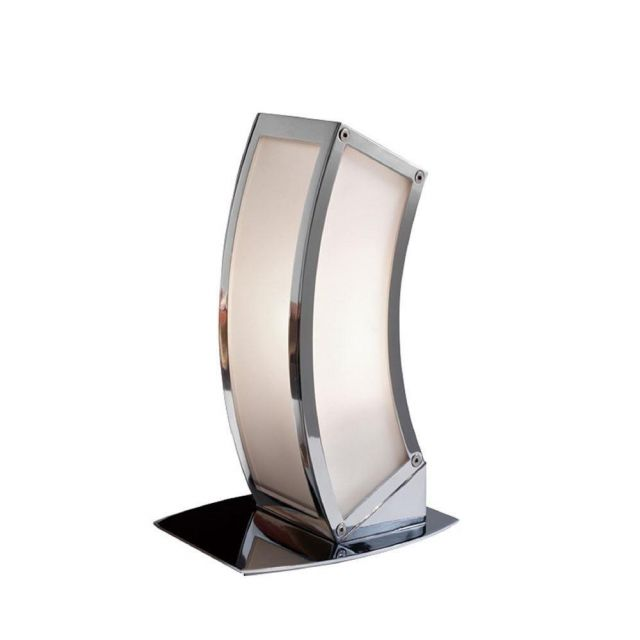 Mantra M0395 Duna 1 Light Table Lamp In Chrome