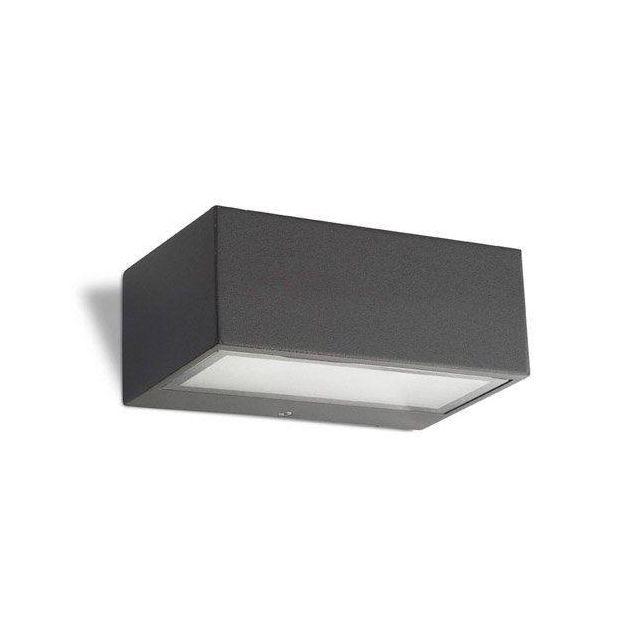 Nemesis Urban Grey Outdoor Wall Light IP44 - 2 Only