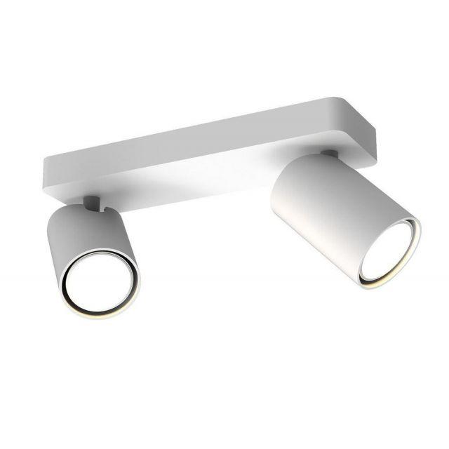 Mantra M6282 Sal 2 Light Bar Mounted Spotlight In White