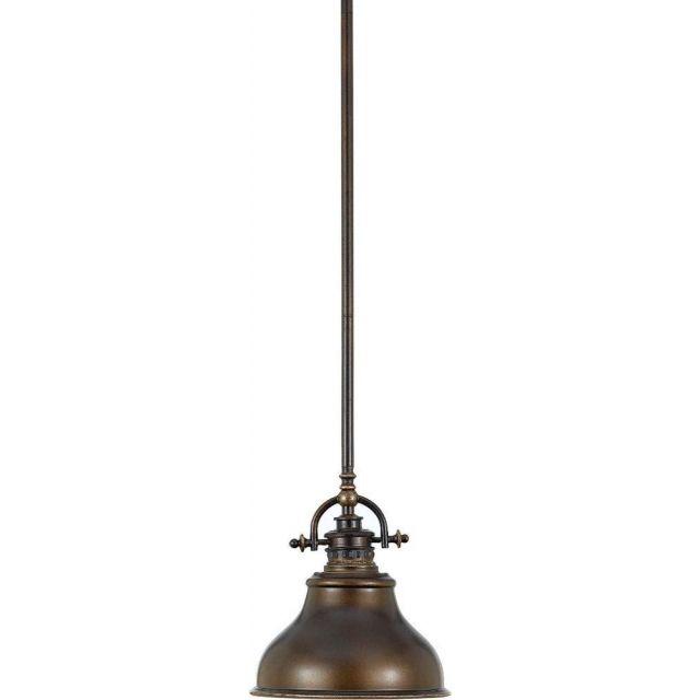 QZ-EMERY-P-S PN Bronze Emery Ceiling Pendant Light