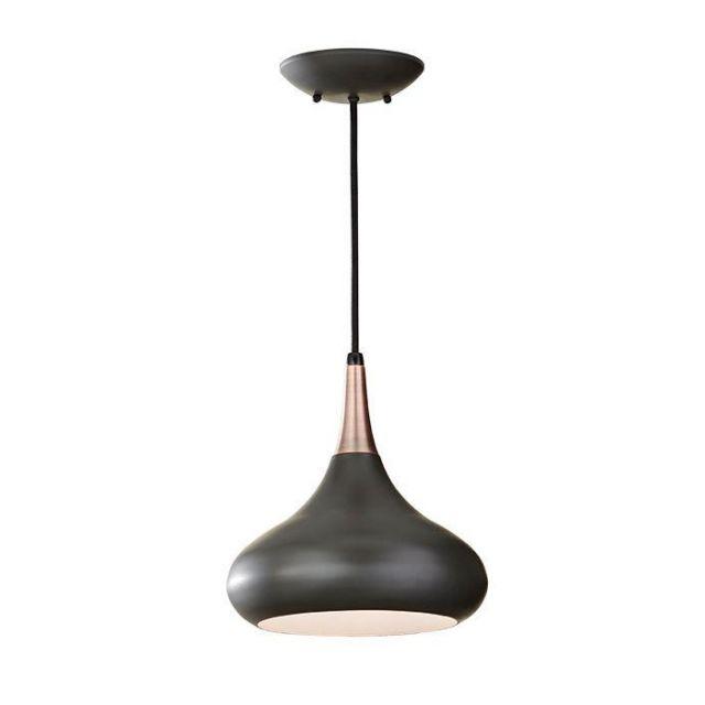 FE/BESO/P/M DBZ Beso 1 Light Dark Bronze Ceiling Pendant
