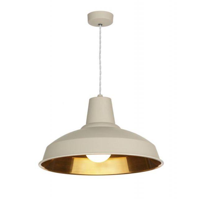 David Hunt Lighting REC0112 Reclamation Ceiling Pendant in Cream Finish