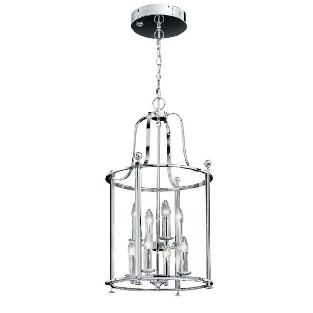 L7000/8 8 Light Chrome Hanging Lantern