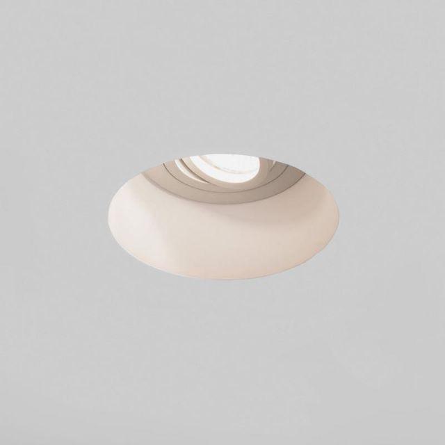 Astro 1253005 Blanco Round Adjustable Downlight in Plaster Finish