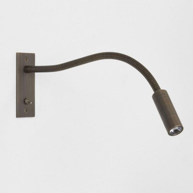 Astro 1295003 Leo Switched Bronze Reading Wall Light
