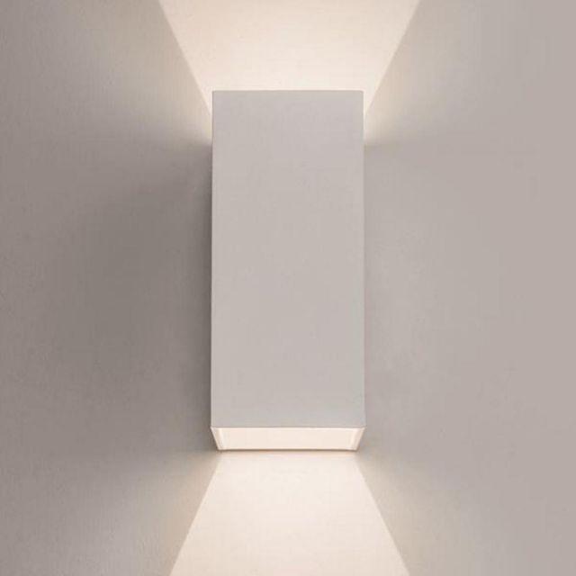 Astro 1298006 Oslo LED White Twin Exterior Wall Light