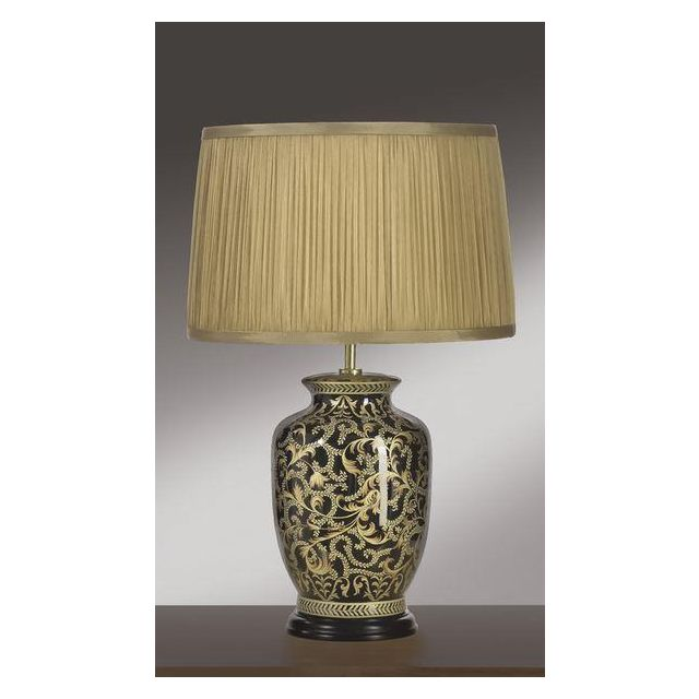Elstead Morris (82MS/LB29) Table Lamp in Gold/Black Small