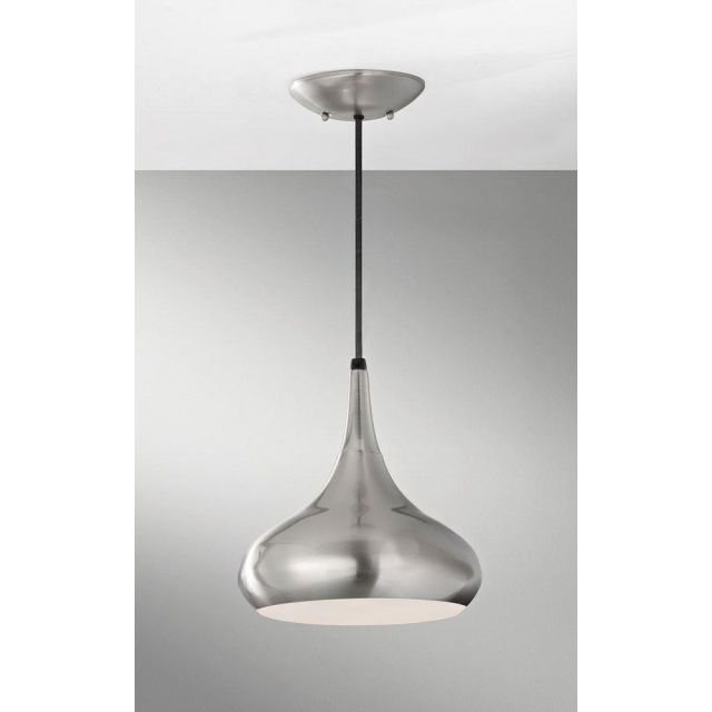 FE/BESO/P/M BS Brushed Steel Beso Retro Large Ceiling Pendant Light