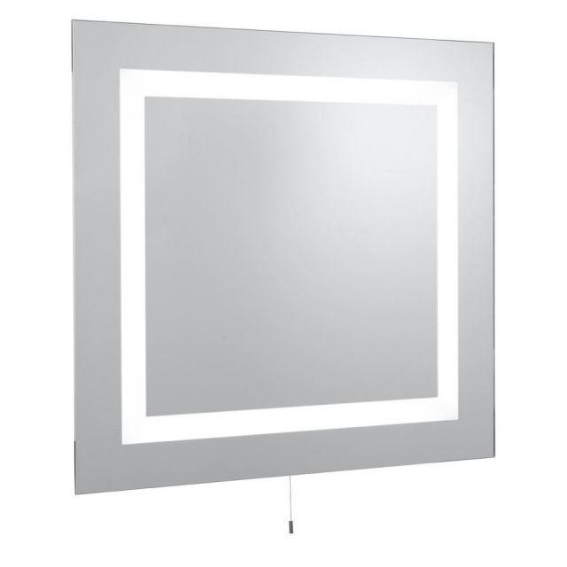 Searchlight 8510 Square Illuminated Bathroom Mirror