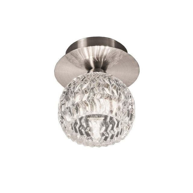 C5728 Fuzz Single Flush Ceiling Light