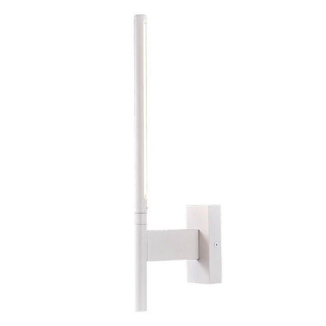 Mantra M6700 Torch 1 Light 6 Watt LED Wall Light In Sand White