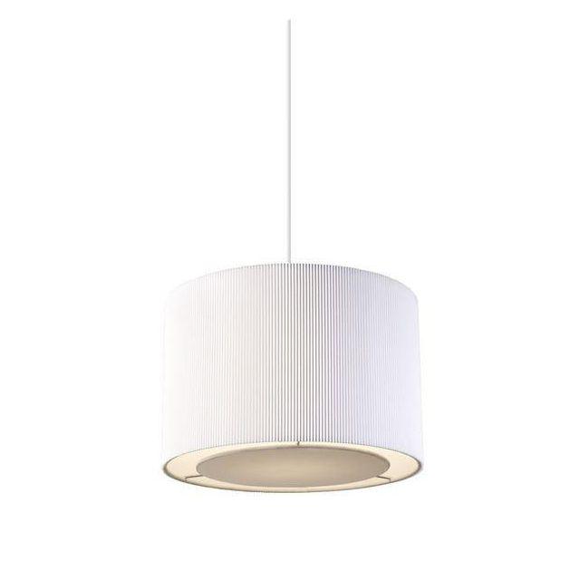 Endon COLETTE-S-WH Colette Small Non-Electrical Pendant In White