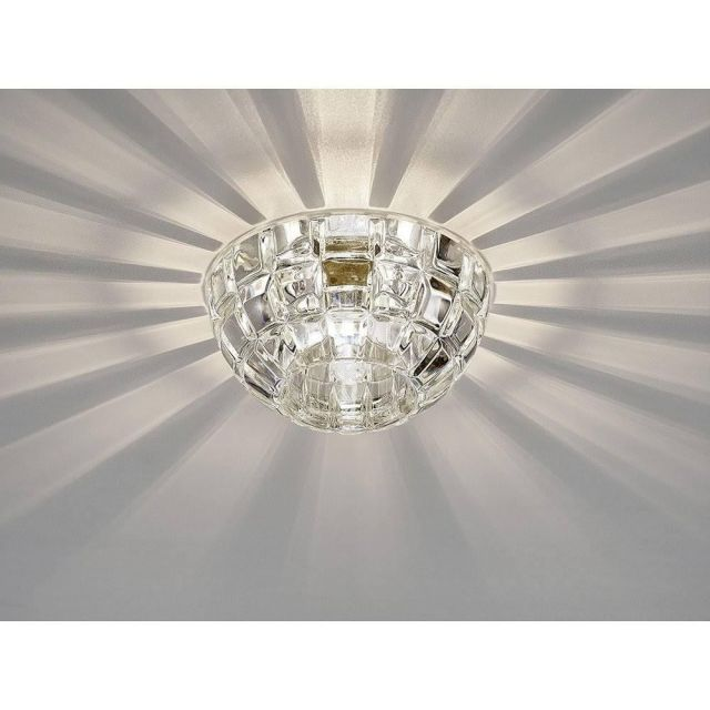 Diyas IL31843CH Ria G9 Diamond Faceted Round Downlight In Polished Chrome