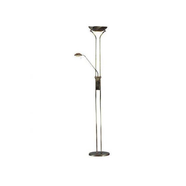 Searchlight 4329AB Ant Brass Mother & Child Floor Lamp
