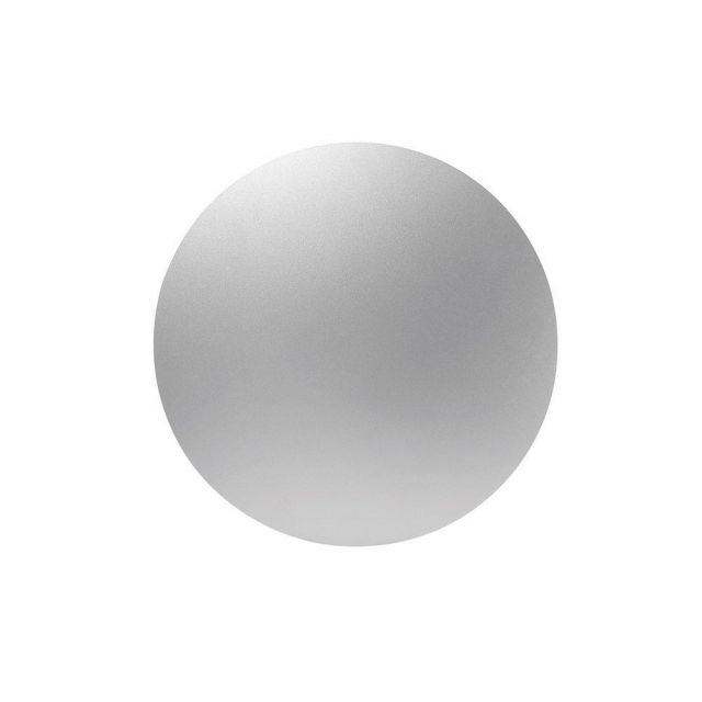 Mantra MC0111 Bora Bora LED Small Round Wall Light In Painted Silver