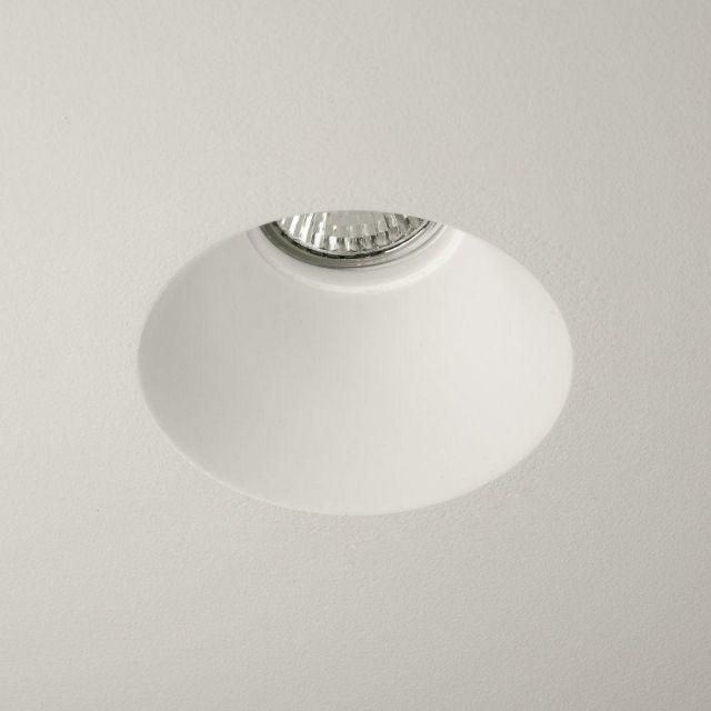 Astro 1253004 Blanco Round White Downlight