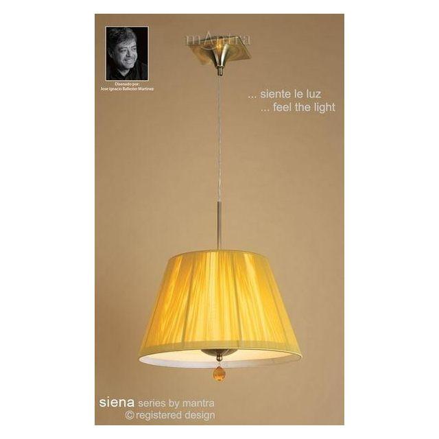 M0386AB Siena Antique Brass 3 Light String Ceiling Pendant