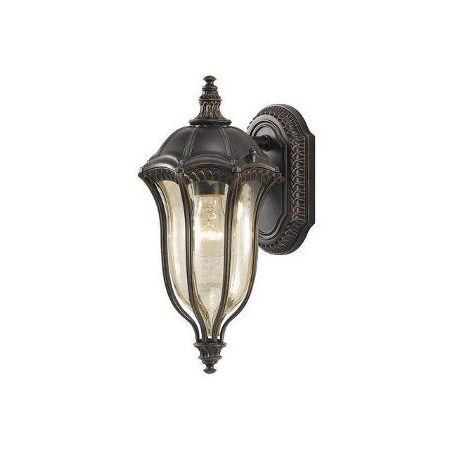 FE/BATONRG/S Outdoor 1 Light Die Cast Aluminium Wall Lantern