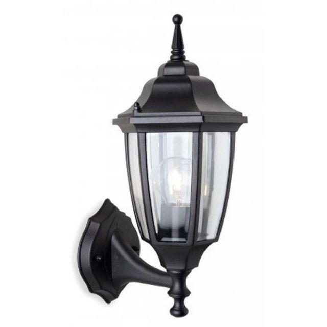 Firstlight 8661BK Faro Uplight Wall Lantern In Black