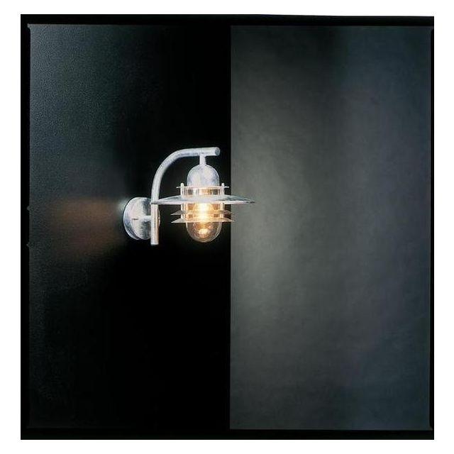 Norlys OS2 GALVANISED Oslo exterior wall lantern, IP54