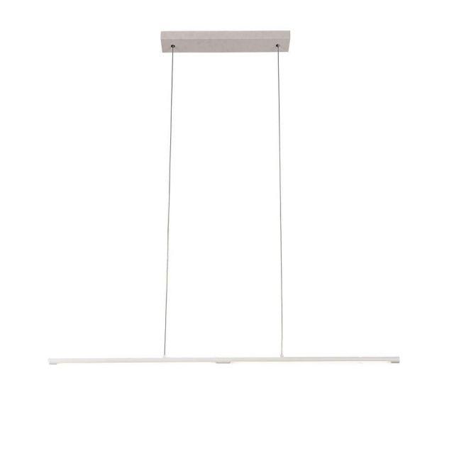 Mantra M6825 Torch 22 Watt LED Linear Ceiling Pendant  In Sand White
